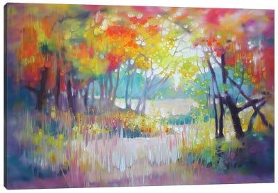 A Moment In Summer Canvas Art Print