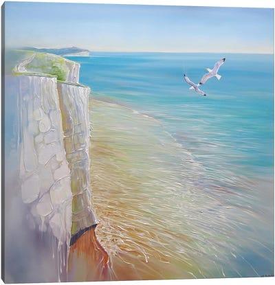 A Seaford Seascape Canvas Art Print