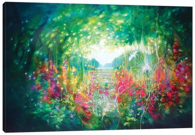 Song Of August Canvas Art Print