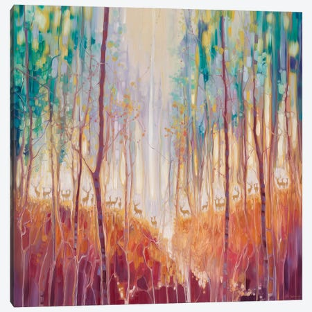 Forest Souls Canvas Print #GBU12} by Gill Bustamante Canvas Artwork