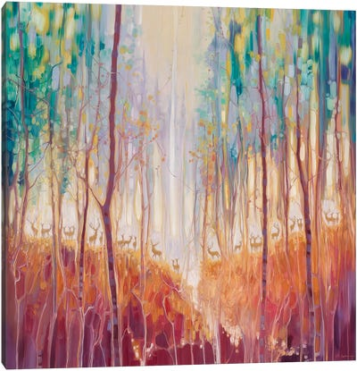 Forest Souls Canvas Art Print