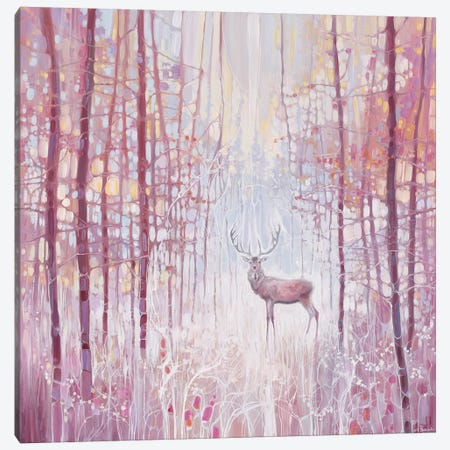 Frost King 3-Piece Canvas #GBU14} by Gill Bustamante Canvas Print