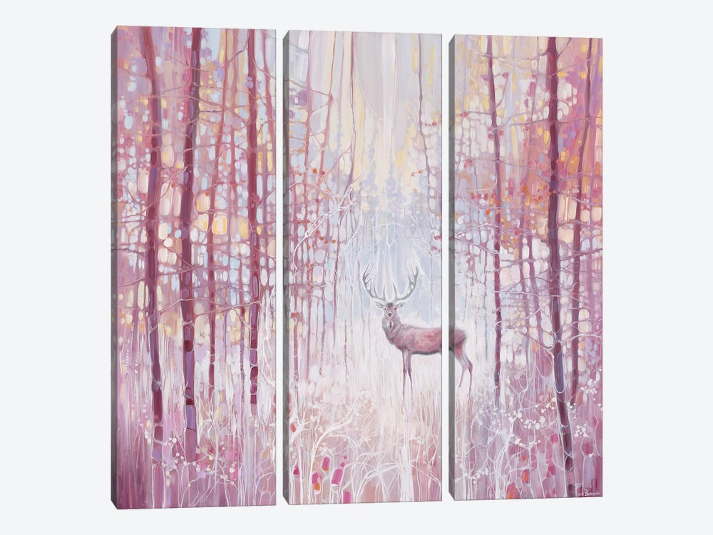 Frost King by Gill Bustamante 3-piece Canvas Art Print