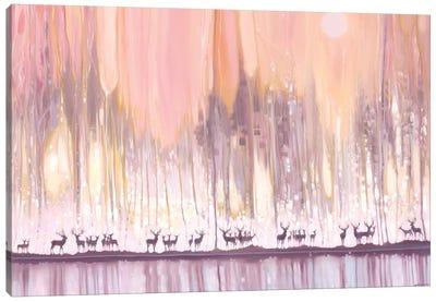 Ice Watchers Canvas Art Print