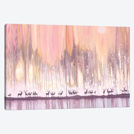 Ice Watchers Canvas Print #GBU18} by Gill Bustamante Canvas Artwork