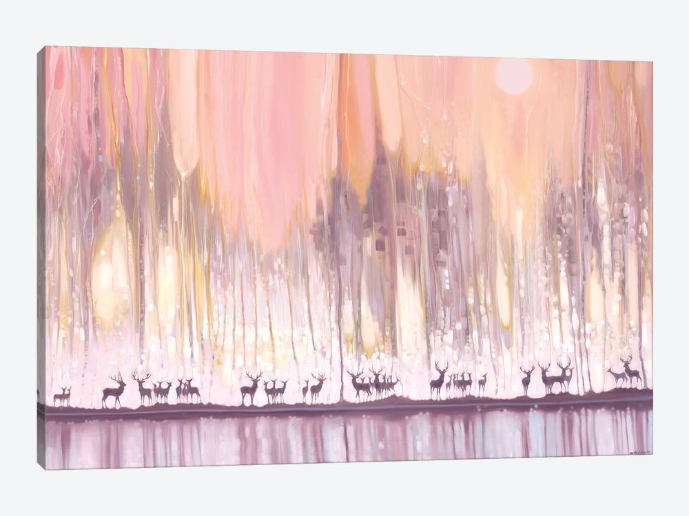 Ice Watchers by Gill Bustamante 1-piece Canvas Print