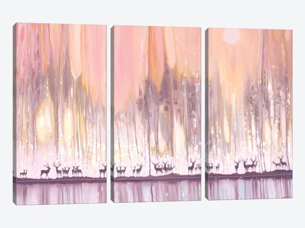 Ice Watchers by Gill Bustamante 3-piece Art Print