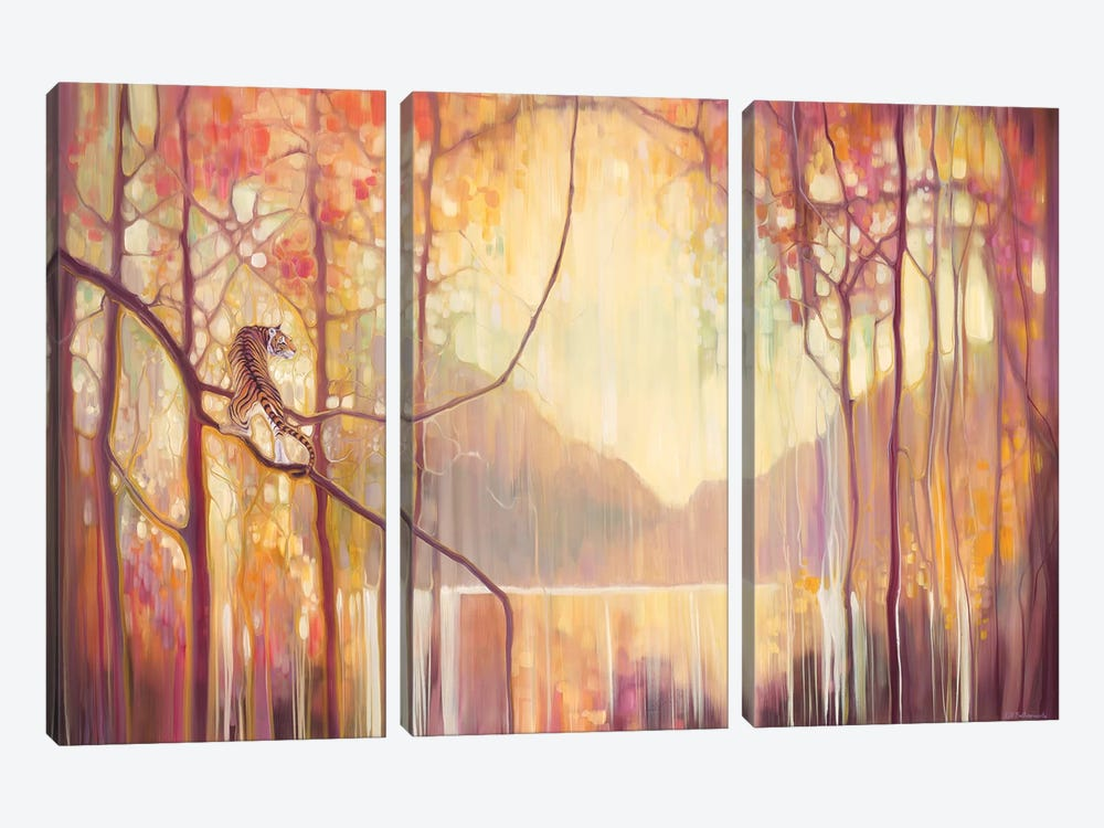 In Another Place by Gill Bustamante 3-piece Canvas Art