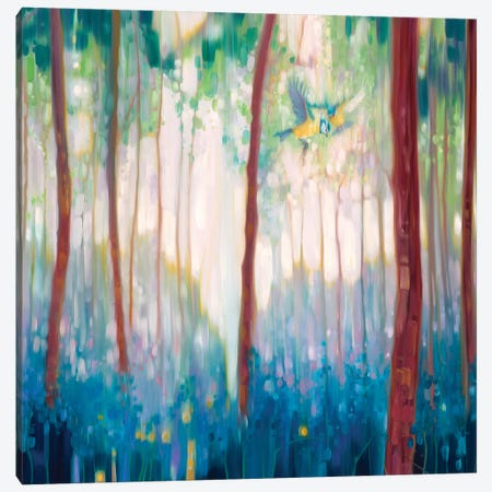 Jubilant Spring, Square Canvas Print #GBU21} by Gill Bustamante Canvas Print