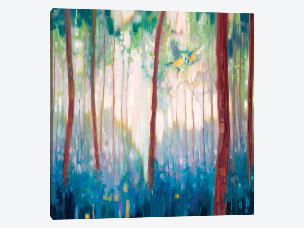 Jubilant Spring, Square by Gill Bustamante 1-piece Canvas Art Print