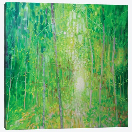 King Of The Green Wood Canvas Print #GBU23} by Gill Bustamante Canvas Print