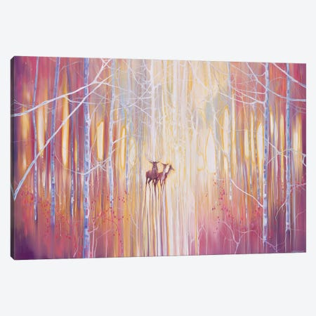 Manifestation 3-Piece Canvas #GBU27} by Gill Bustamante Canvas Artwork