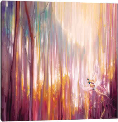 Nebulous Forest Canvas Art Print