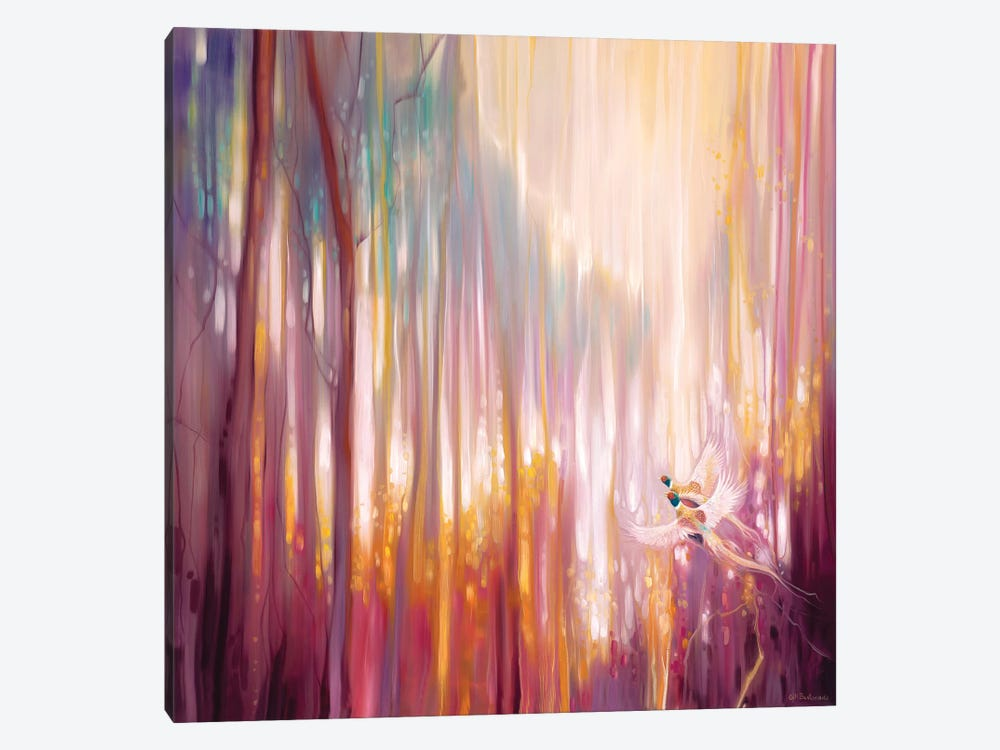 Nebulous Forest by Gill Bustamante 1-piece Canvas Artwork