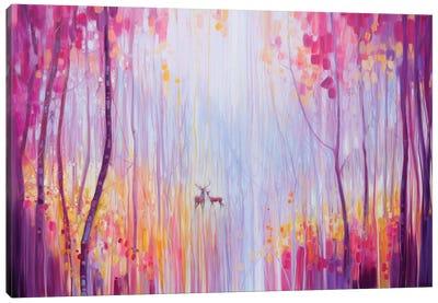 Autumn Monarchs Canvas Art Print