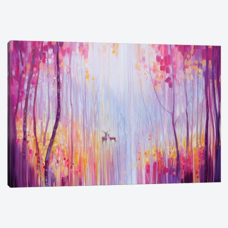 Autumn Monarchs Canvas Print #GBU3} by Gill Bustamante Canvas Art