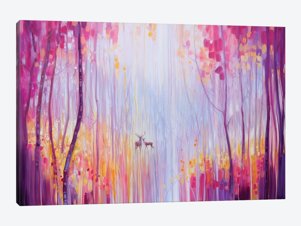 Autumn Monarchs by Gill Bustamante 1-piece Canvas Wall Art