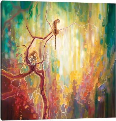 Tiger Odyssey Canvas Art Print