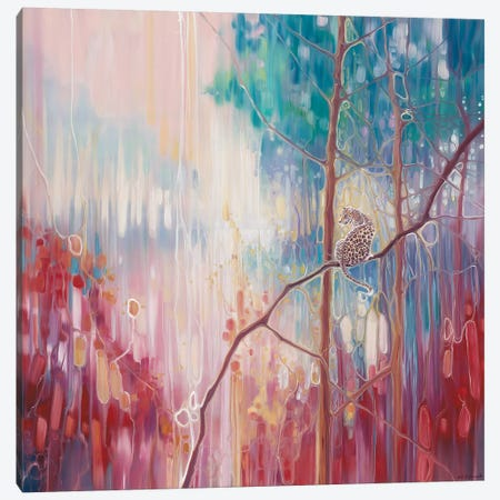 Weaving Magic Canvas Print #GBU47} by Gill Bustamante Canvas Artwork