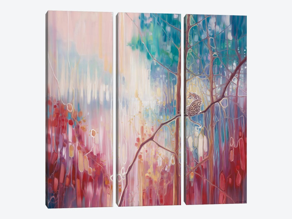 Weaving Magic by Gill Bustamante 3-piece Canvas Print