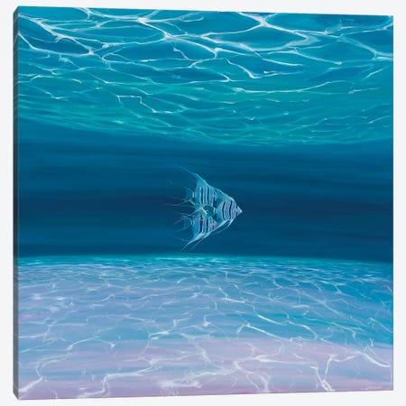 Blue Angels Blue Sea Canvas Print #GBU4} by Gill Bustamante Art Print