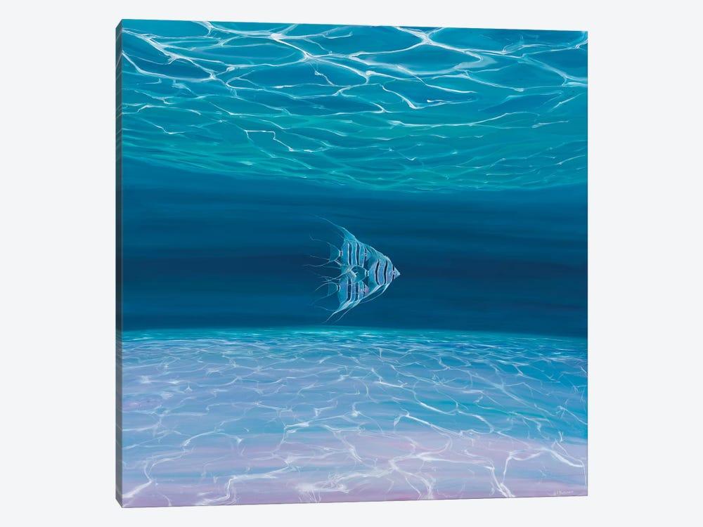 Blue Angels Blue Sea by Gill Bustamante 1-piece Canvas Art Print