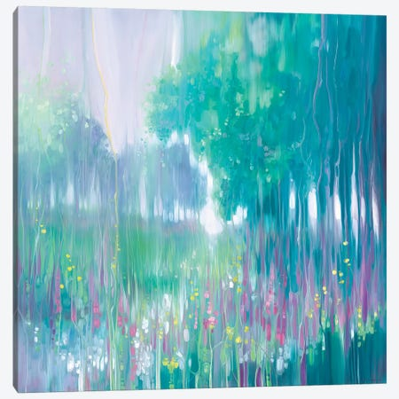 June Melody Canvas Print #GBU51} by Gill Bustamante Canvas Artwork
