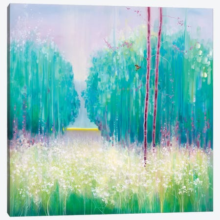 May Meadow Canvas Print #GBU52} by Gill Bustamante Canvas Artwork