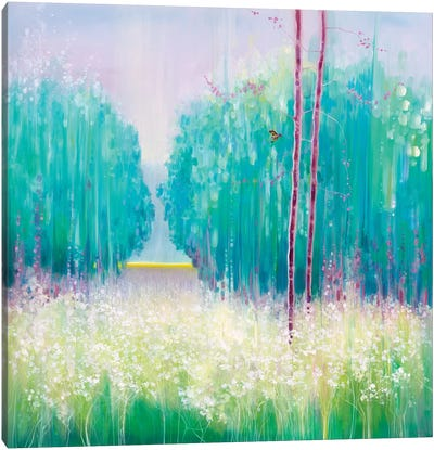 May Meadow Canvas Art Print