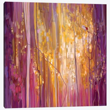 Robin's Song Canvas Print #GBU53} by Gill Bustamante Canvas Artwork