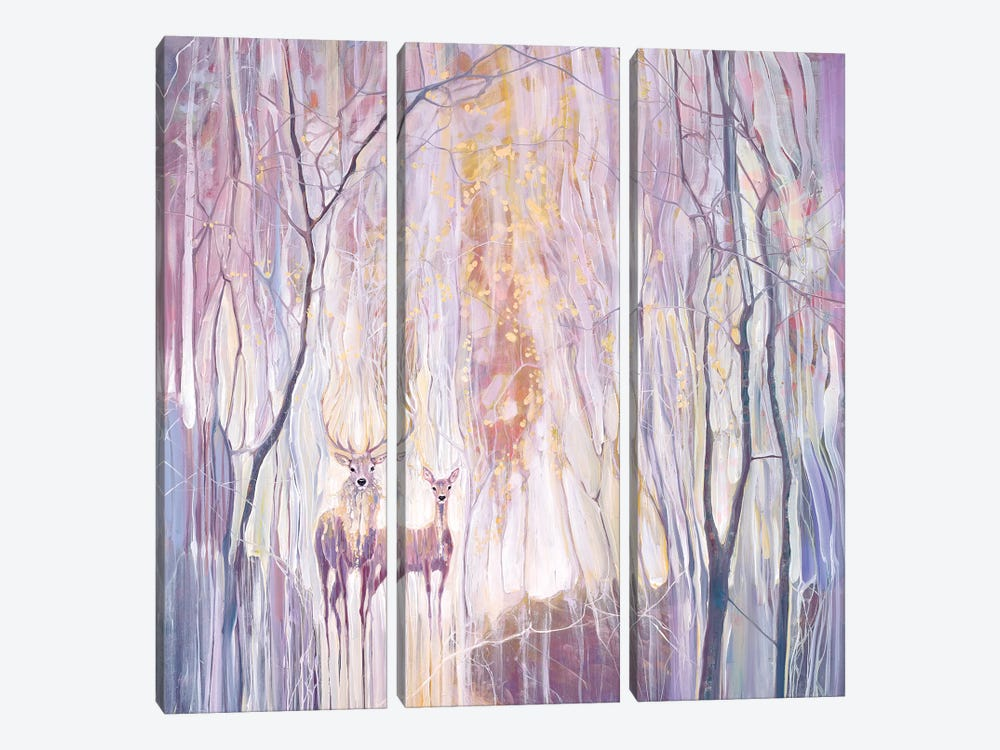 Ethereal by Gill Bustamante 3-piece Canvas Art