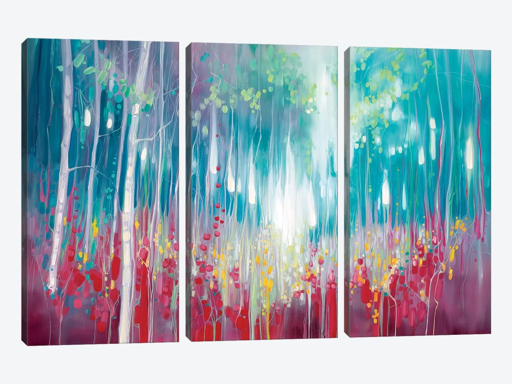Roaring Summer by Gill Bustamante 3-piece Canvas Art Print