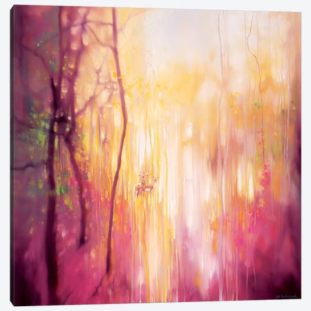 Something Changes Canvas Print #GBU62} by Gill Bustamante Art Print