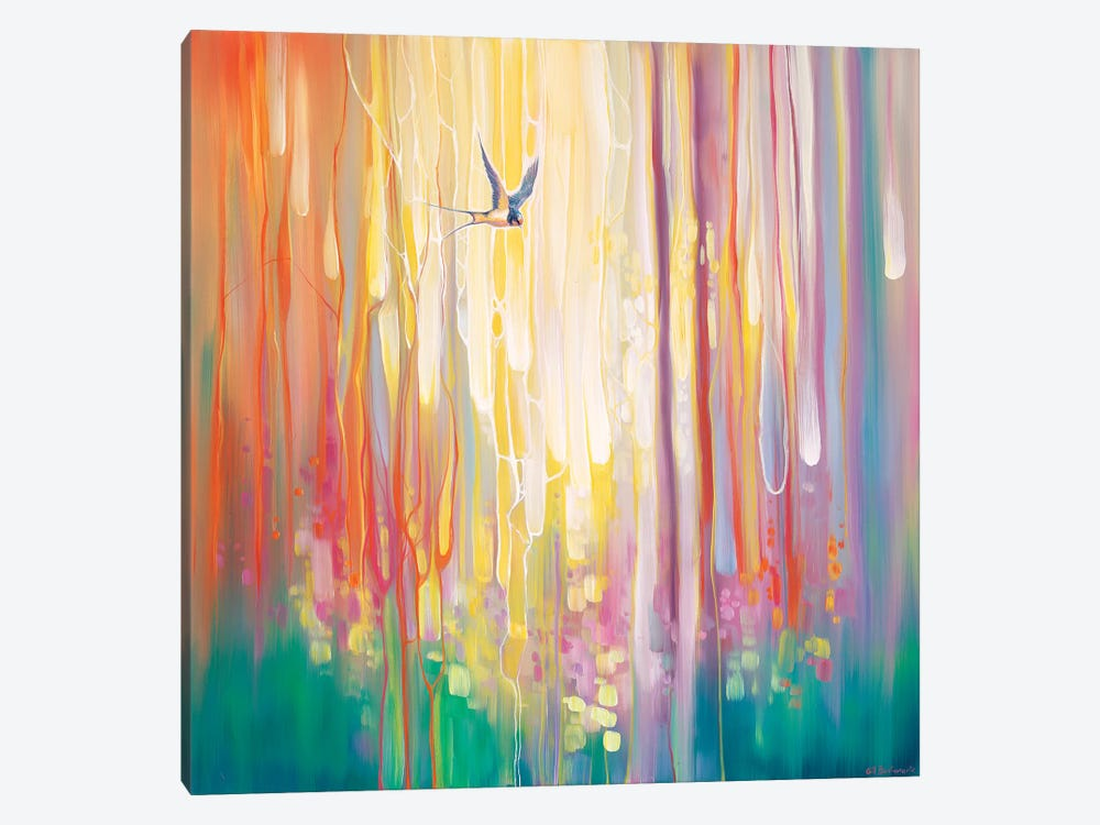 Summer Ends by Gill Bustamante 1-piece Canvas Print