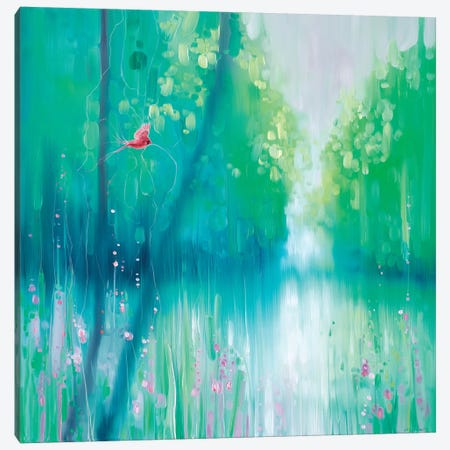 Summer Timewarp Canvas Print #GBU64} by Gill Bustamante Canvas Art