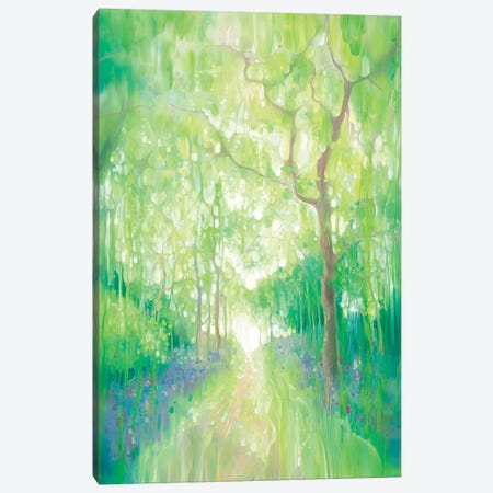 Green Forest Calling Canvas Print #GBU69} by Gill Bustamante Canvas Print