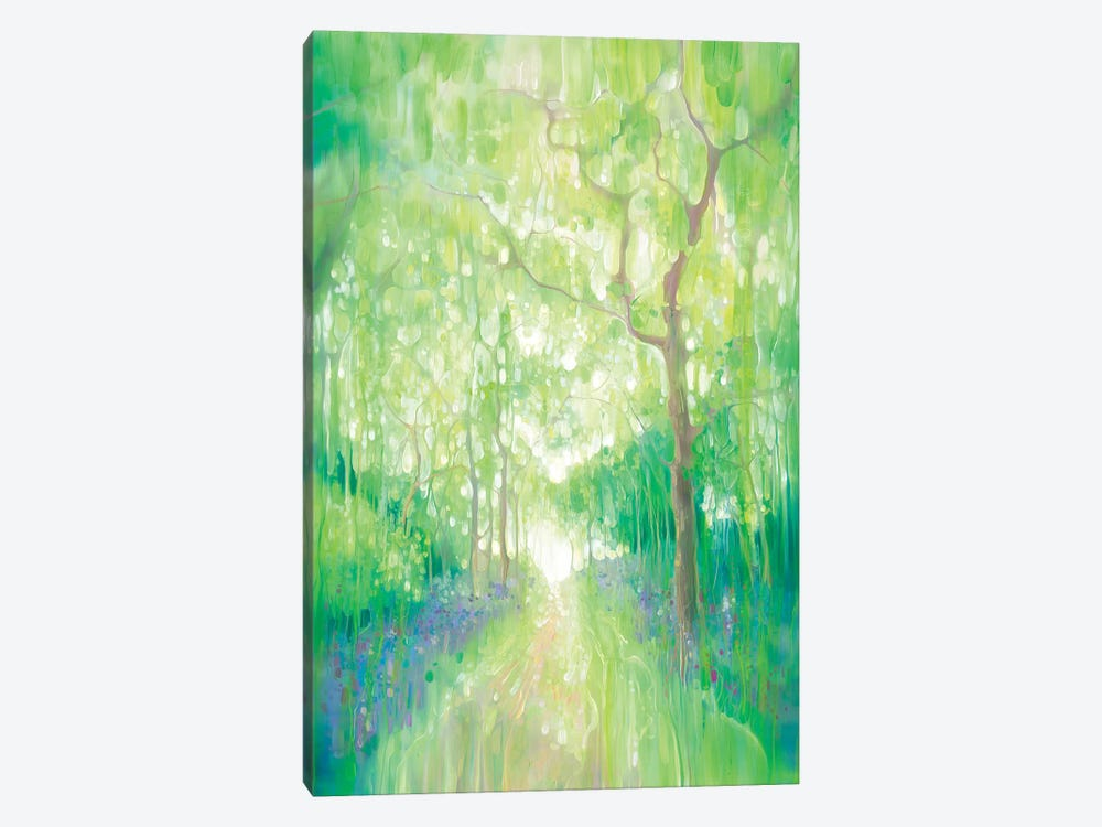 Green Forest Calling by Gill Bustamante 1-piece Canvas Art Print