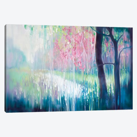 Song Of April Canvas Print #GBU70} by Gill Bustamante Canvas Art