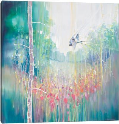 Weaving Summer Canvas Art Print