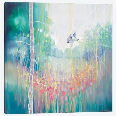 Weaving Summer Canvas Print #GBU75} by Gill Bustamante Canvas Art Print