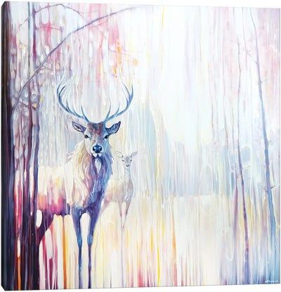 Woodland Souls Canvas Art Print