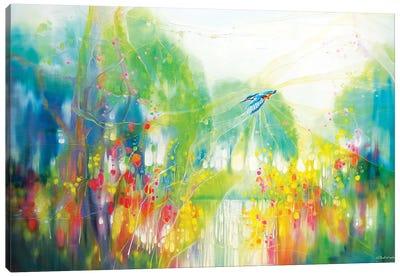 River Spell Canvas Art Print