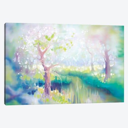 River Glade Canvas Print #GBU86} by Gill Bustamante Canvas Wall Art