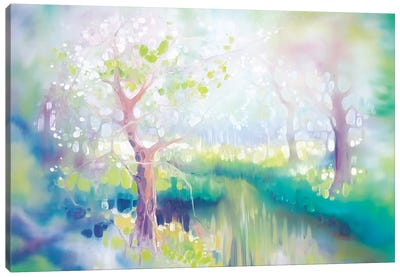River Glade Canvas Art Print