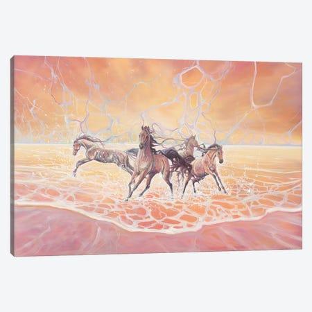Elemental Canvas Print #GBU8} by Gill Bustamante Canvas Artwork