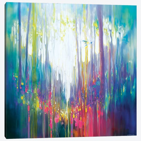 The Secret Canvas Print #GBU90} by Gill Bustamante Canvas Art
