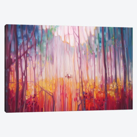 Elusive 3-Piece Canvas #GBU9} by Gill Bustamante Canvas Art