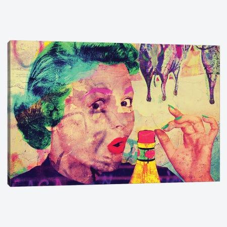 Ketchup Canvas Print #GBY14} by Brysemal Canvas Art Print