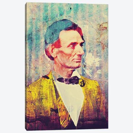 Lincoln Canvas Print #GBY16} by Brysemal Canvas Art Print
