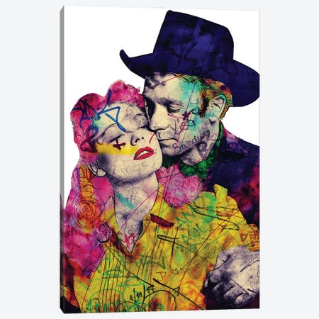 Vintage Romance X Canvas Print #GBY23} by Brysemal Art Print